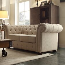 Carthusia Button Tufted Loveseat