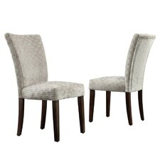 Wingston Link Print Parson Chair (Set of 2)