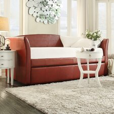 Cataleya Daybed with Trundle in Wine Red
