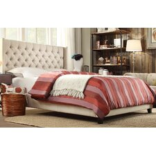Declare Tufted Wingback Bed