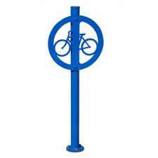 Traditional 2 Bike Medallion Post