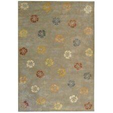 Garland Pearl/Grey Floral Area Rug
