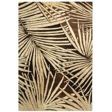 Palms Coconut/Brown Area Rug