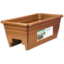 Rectangular Rail Planter (Set of 2)