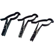 Sparrow Clips Bird Clothespin in Black (Set of 8)
