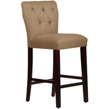 "Evelina 31"" Bar Stool with Cushion"