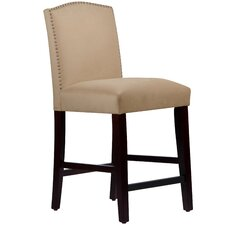 "Nadia 26"" Bar Stool with Cushion"