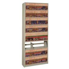 "4Post-In-A-Box 88.25"" H Nine Shelf Shelving Unit Starter"