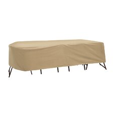 Oval or Rectangular Bar Height Table and Chair Cover