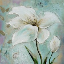 Floral Series 1 Original Painting Wrapped on Canvas