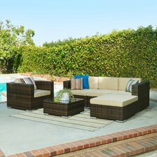 Aria 6 Piece Seating Group with Cushions