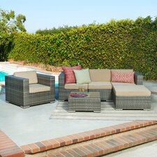 Caribe 4 Piece Seating Group with Cushions