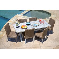 Lindmere 7 Piece Dining Set with Cushions