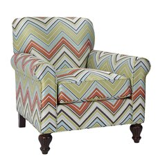 Tight Back Loose Seat Club Arm Chair