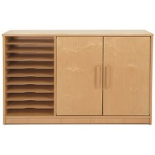 Art Paper Cabinet