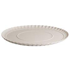 Estetico Quotidiano Porcelain Ripple Plate