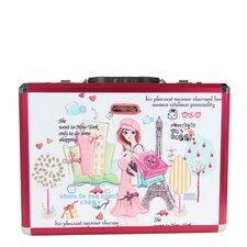 Priscilla Shopping Girl Laptop Briefcase
