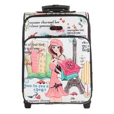 "Shopping Girl 21"" Suitcase"