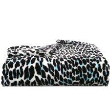 Leopard Jungle Plush Fleece Throw Blanket