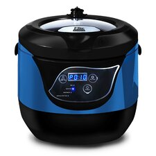 5.5 Qt Digital Non-Stick Low Pressure Cooker