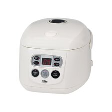 Gourmet 8 Cup Programmable Multifunction Rice Cooker