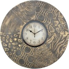 Metal Wall Clock (Set of 2)