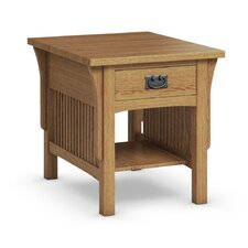 FLW End Table With Drawer