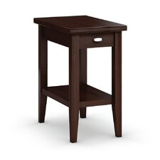 Bowery Chairside Table with Drawer