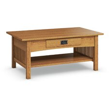 Mission Hills Cocktail Table With Drawer
