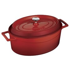 Signature Enameled Cast-Iron Oval Dutch Oven