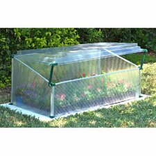 Single 3.5 Ft. W x 2 Ft. D Cold Frame Greenhouse