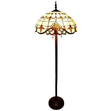 Allistar Stained Glass Floor Lamp