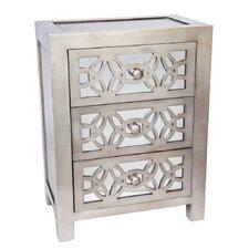 Glam Slam 3 Drawer Cabinet