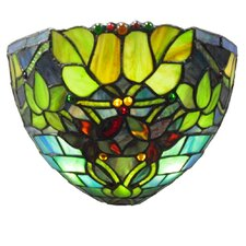 Hampshire Stained Glass LED Wall Sconce