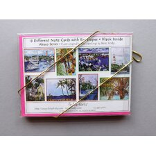 Abaco Series 8 Piece Note Card Set