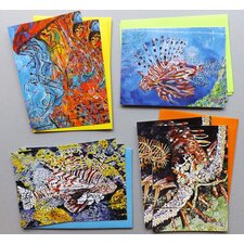 Tangled Up Series 8 Piece Note Card Set