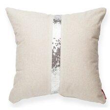 Luxury Cross Sequin Linen Throw Pillow