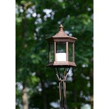 Solar Lantern Glass Tiki Torch