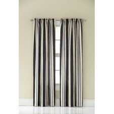 Mercury Stripe Curtain Panel