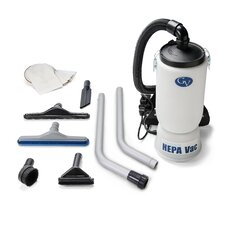 """New 6 Quart HEPA BackPack Vacuum with Proffesional 1.5"""" Tool Kit Commercial Restaurant Industrial"""