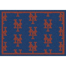 MLB Team Repeat New York Mets Baseball Novelty Rug