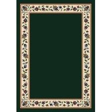 Signature Symphony Emerald Solid Area Rug