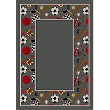 Design Center Lapis Good Sport Area Rug