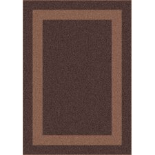 Modern Times Bailey Dark Brown Area Rug