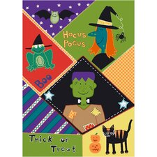 Fall Seasonal Pocus Hocus Area Rug