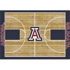 College Court Arizona Wildcats Rug