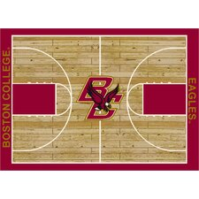 College Court NCAA Boston College Novelty Rug