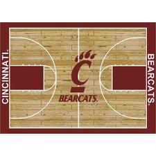 College Court Cincinnati Bearcats Rug