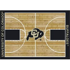 College Court Colorado Buffaloes Rug