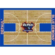 College Court DePaul Blue Demons Rug